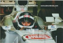 Darren Manning BAR HONDA 02.  Silverstone Test 2000. Photo
